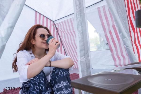 100 M² Mantar & Solucan Çadırı